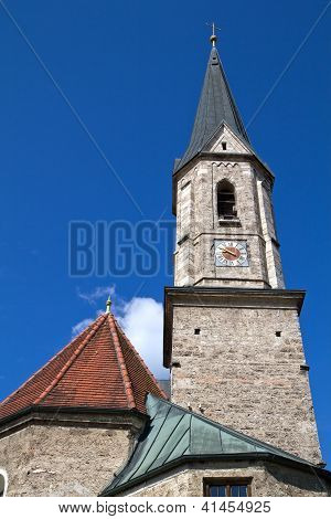 Historic Bavarian church steeple