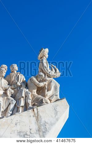 The Monument To The Discoveries In Lisbon, Portugal