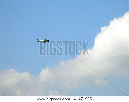 Historic Plane Yak-11
