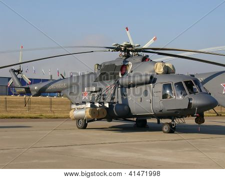 Military Helicopter Mi-8
