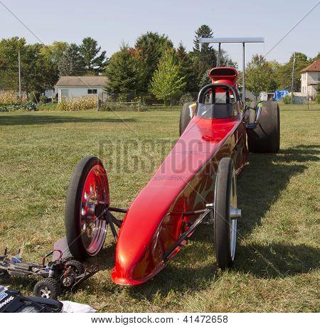 Red Drag Racer
