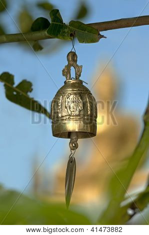 Buddhist prayer bell