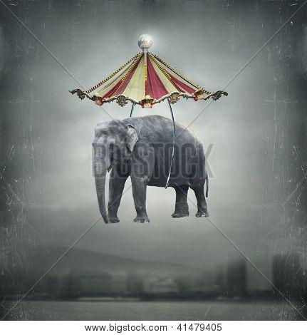 Elefante de fantasía