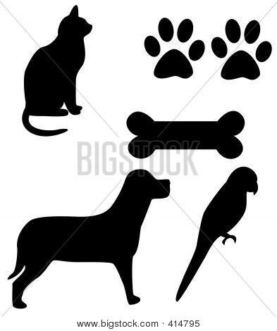 House Pets - Clip Art