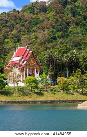 budhist temple in Phuket Thailand