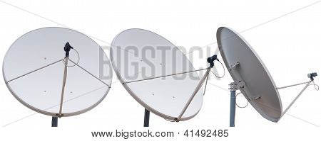 Parabolic communication antenna