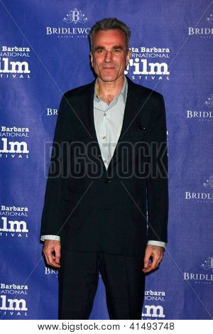 SANTA BARBARA - JAN 26:  Daniel Day-Lewis arrives at the Santa Barbara International Film Festival  Montecito Award at Arlington Theater on January 26, 2013 in Santa Barbara, CA