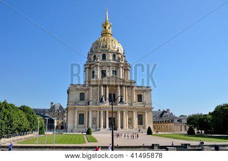 Chapel of Saint-Louis-des-Invalides in Paris, France