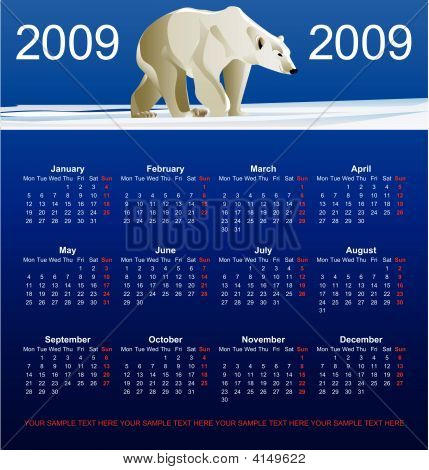 Calendar Bear