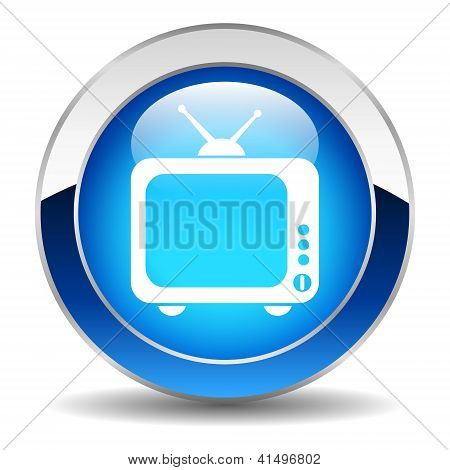 Vector tv button