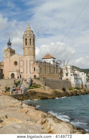 Sitges, Church And Palace