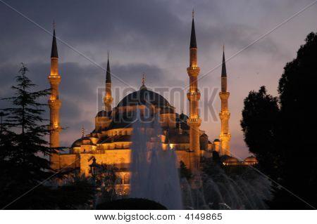 Hagia Sophia By Night. Istanbul.