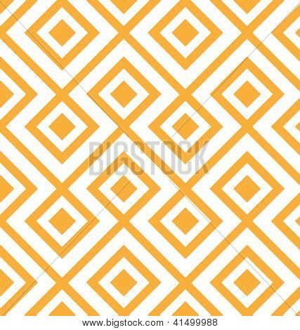 Lozenge shaped  geometric pattern