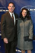 NEW YORK-JAN 24: Former MLB player John Flaherty and wife Allyn attend the 10th Anniversary Joe Torr