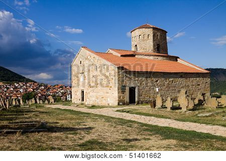 The Orthodox Peter's Church Near Novi Pazar Town In Serbia