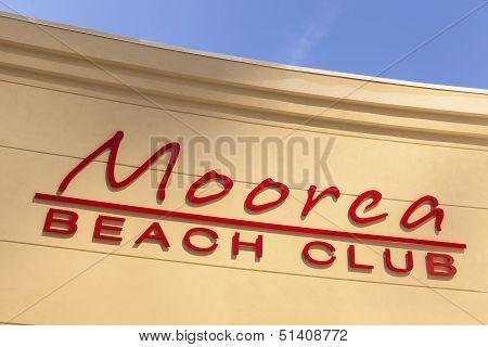Moorea Beach Club In Las Vegas, Nv On April 19, 2013