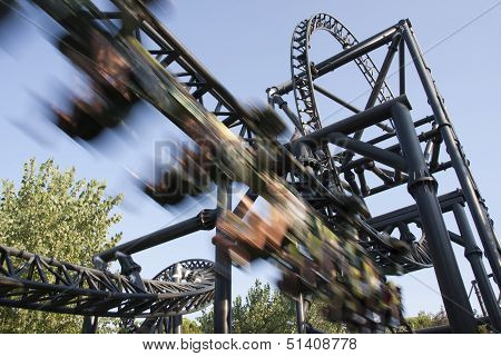 Roller Coaster Speed