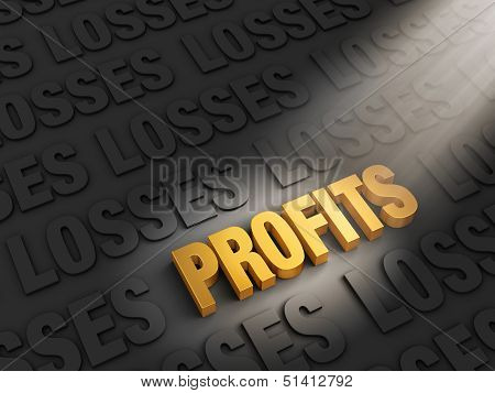 Profits Outshine Losses