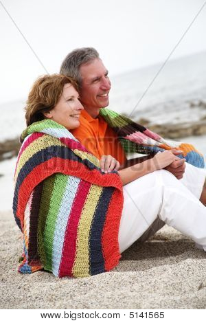 Beautiful Mature Couple On Holidays