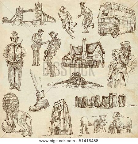 England Illustrations