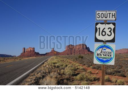 Usa, Monument Valley- South 163 Scenic Byway