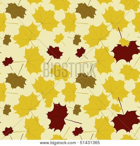 The abstract fall background