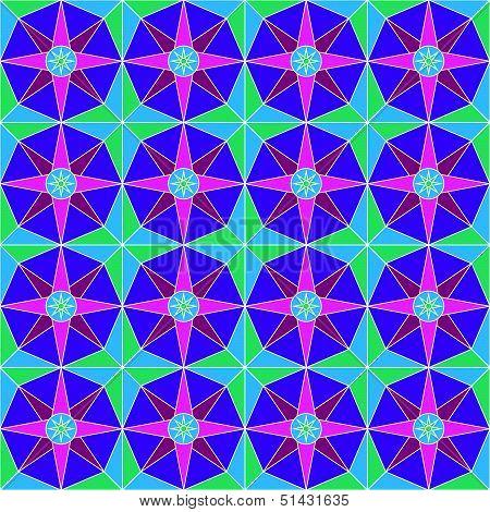 Colorful Art Noveau Pattern