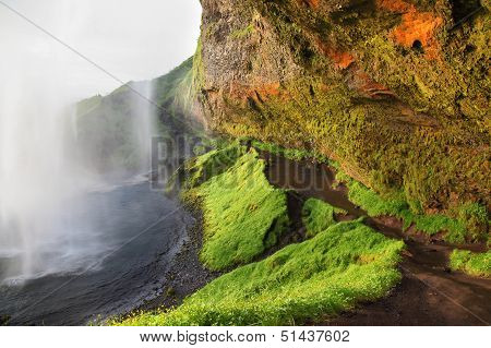 Seljalandsfoss Waterfall, Iceland