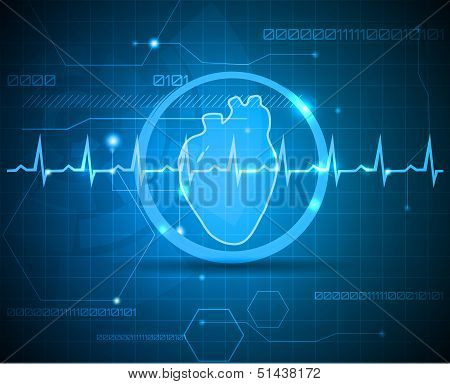 Anatomy Of Heart Wallpaper