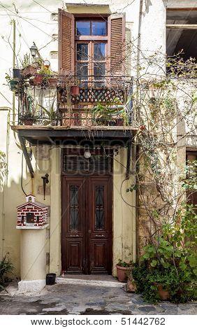 Narrow Streets In Chania, Greece