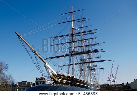 Cutty Sark Ship, London