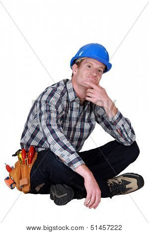 A thoughtful tradesmen