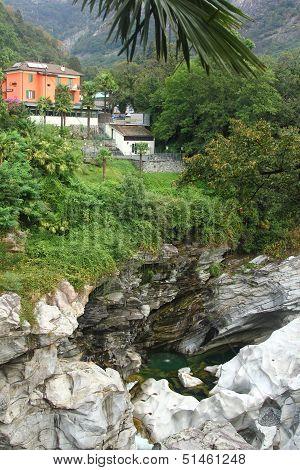 Beautiful Picture Of Nature Of Ticino Region In Switzerland