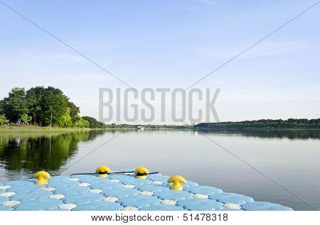 Blue Harbor And Lake