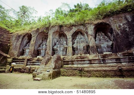 Gunung kawi temple in Bali