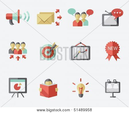 Marketing icon set