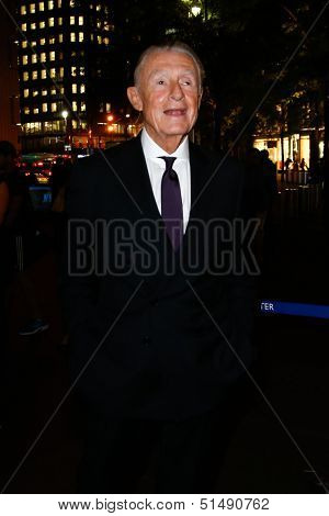 NEW YORK-SEP 24: Director Joel Schumacher attends HUGO BOSS celebrates Columbus Circle BOSS flagship opening on September 24, 2013 in New York City.