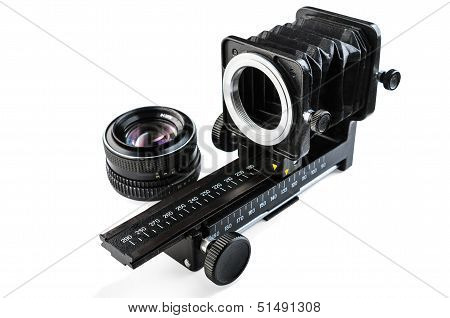 Macro Bellows And Lens