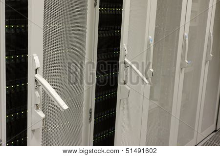 Mainframe Of A Server