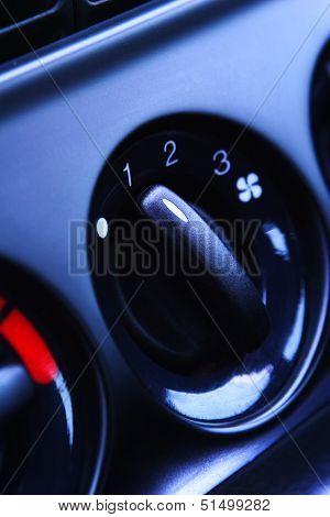 Car Ventilation Knob