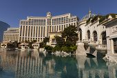 The Bellagio Hotel And Lake In Las Vegas, Nv On April 27, 2013