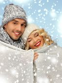 stock photo of blanket snow  - christmas - JPG