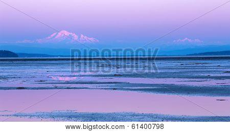 Mount Baker twilight