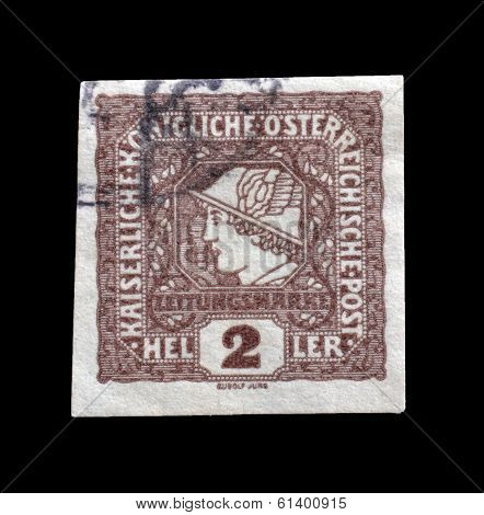 Old Austrian stamp