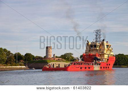Sea Trials Tug