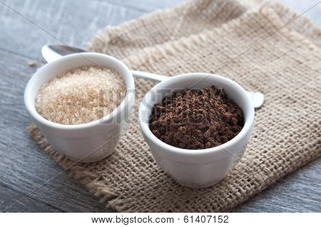 Ness Coffee Powder And Brown Sugar