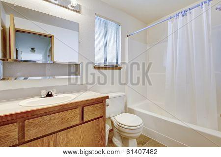 Bright Bathroom With Window