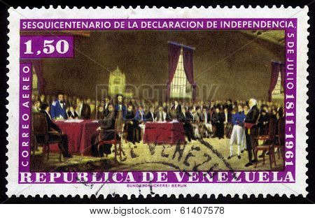 150 Years Of The Declaration Of Independence, July 5 1811-1961, Venezuela