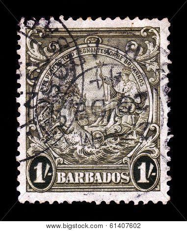 Portrait Of George Vi, Barbados