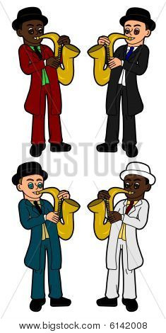 Saxophonists collection